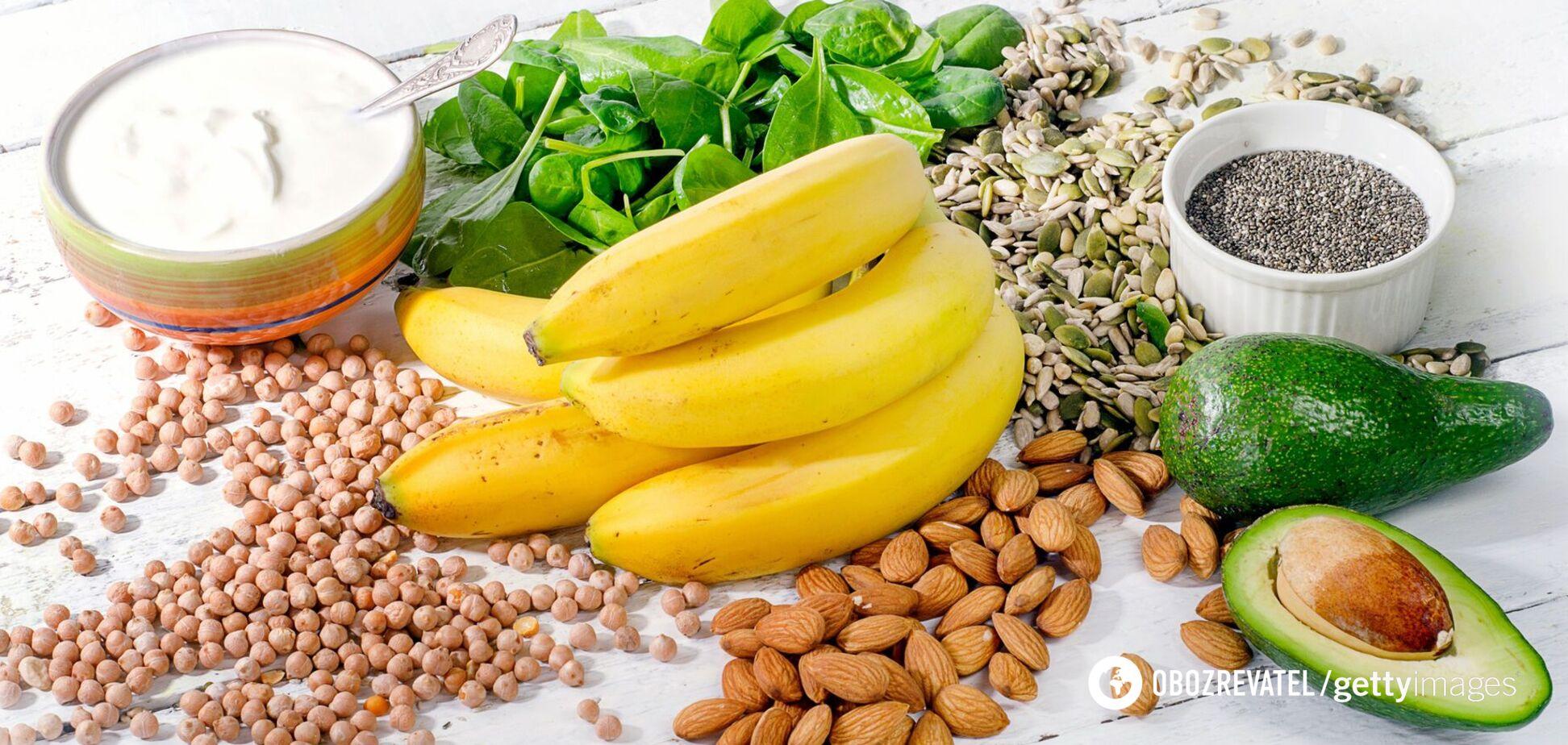 Авокадо содержит много магния, калия, марганца и меди