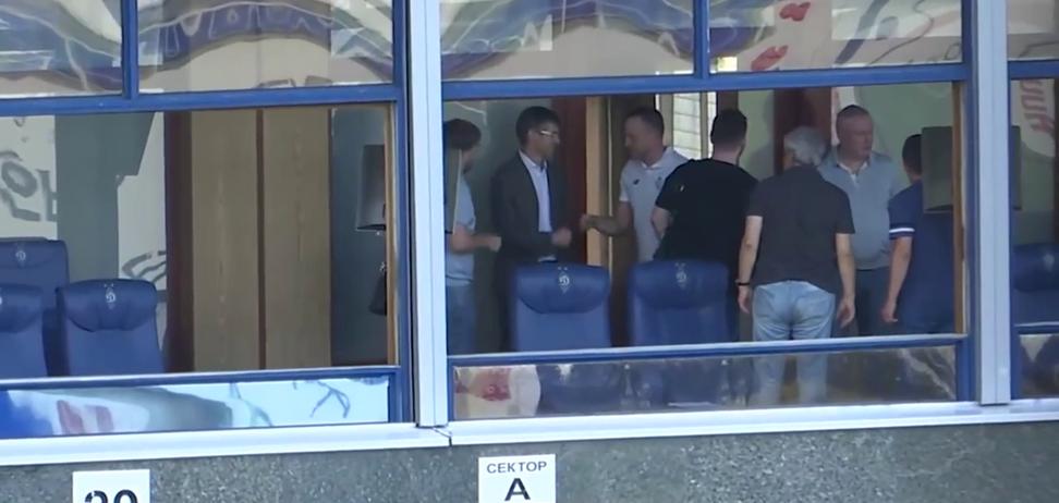 Перша зустріч Луческу і Гусєва потрапила на відео