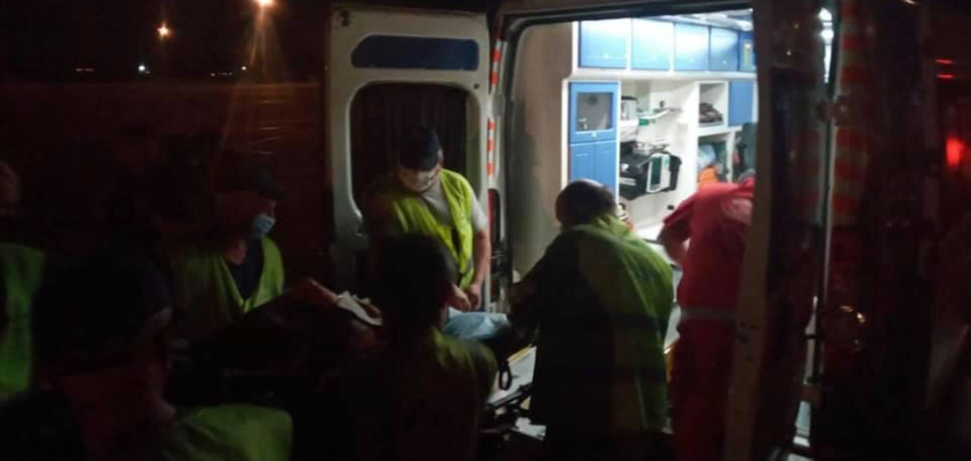 В Днепр эвакуировали бойца ВСУ с тяжелым пулевым ранением