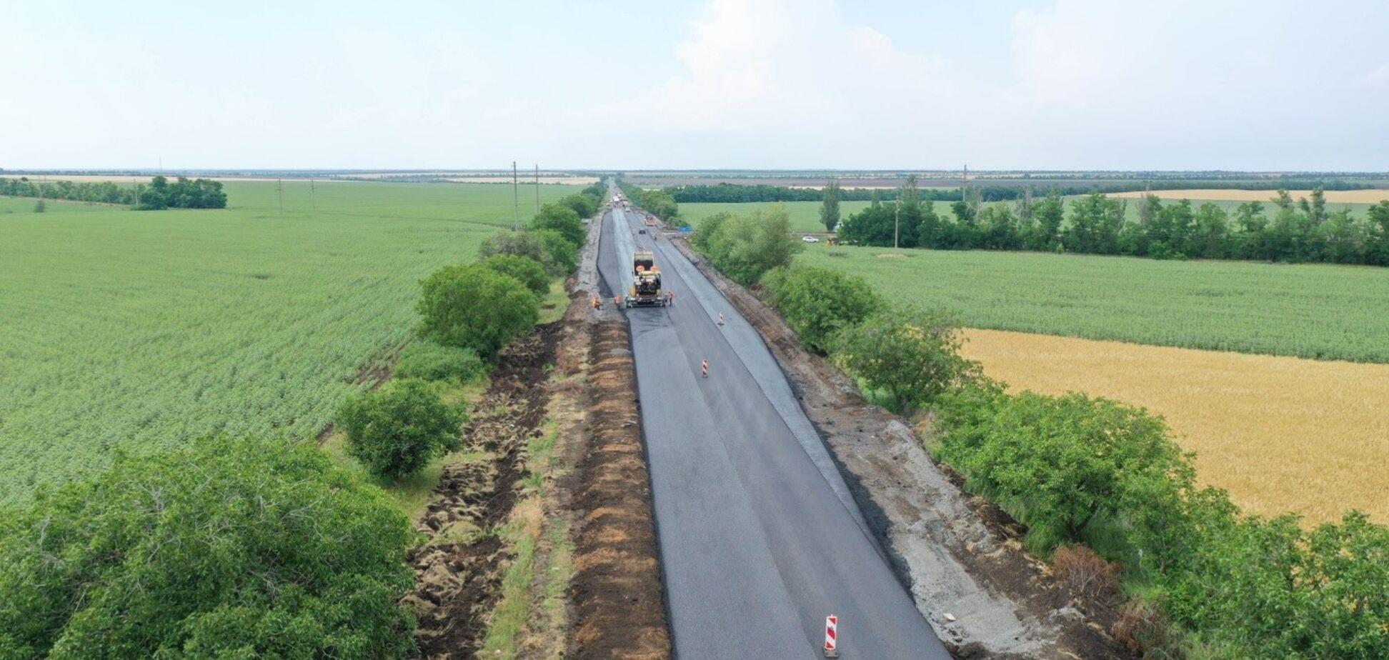 'Велике будівництво': качественных дорог в Запорожской области стало больше