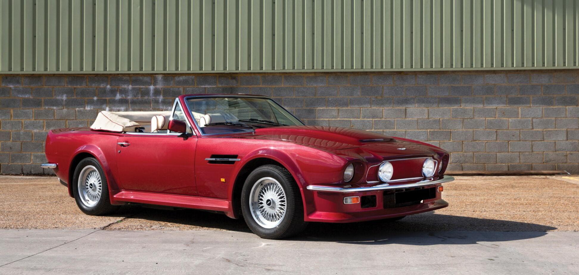 Aston Martin Дэвида Бэкхэма выставили на продажу