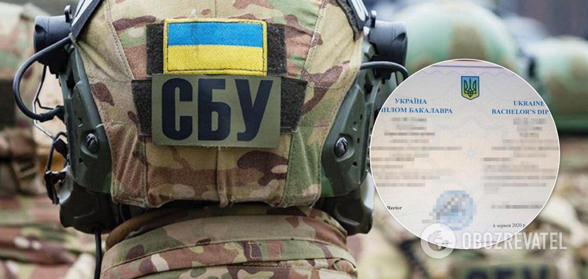 Терористи 'ДНР' купували дипломи для отримання високих звань