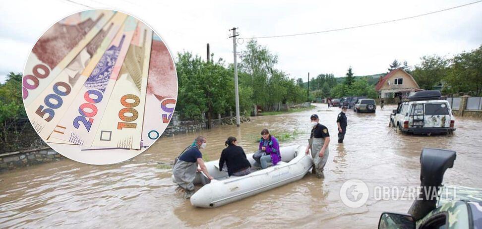 На ликвидацию последствий наводнения Рада дала еще 2 млрд грн