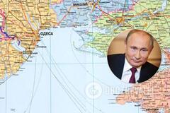 Россия хочет взять под контроль черноморское побережье от Одессы до Керчи