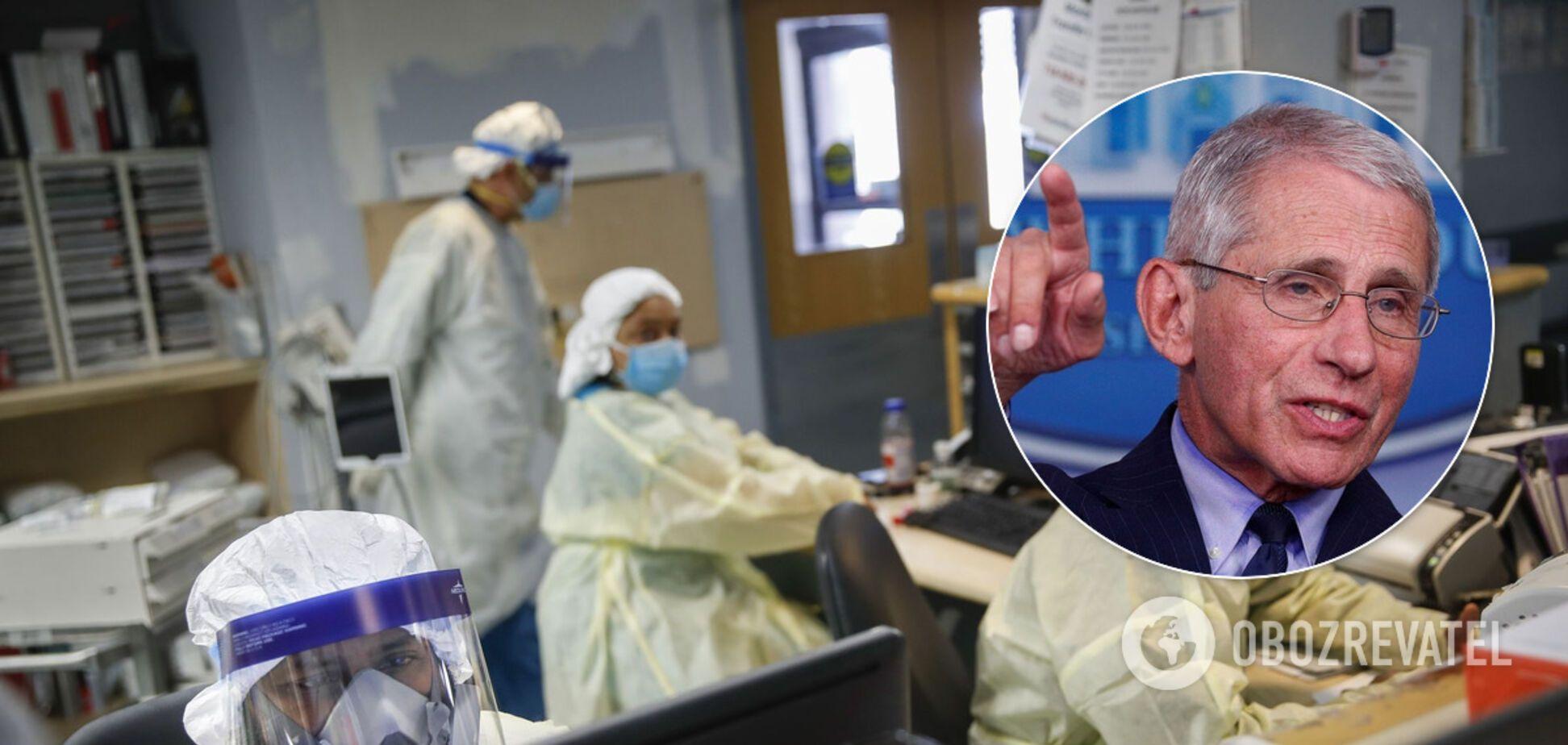 Коронавирус может стать более заразным из-за мутации,– главный инфекционист США