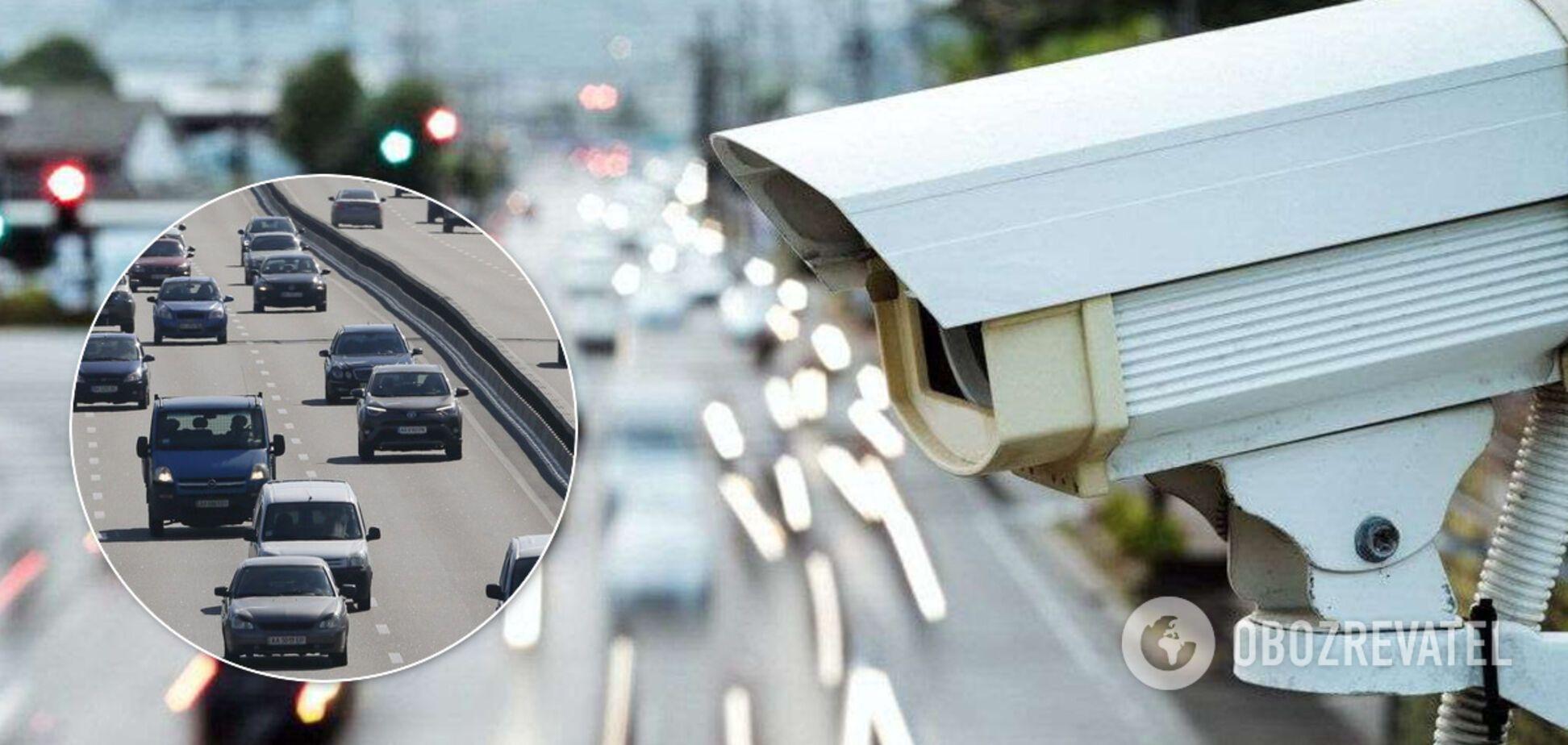 Камеры на дорогах