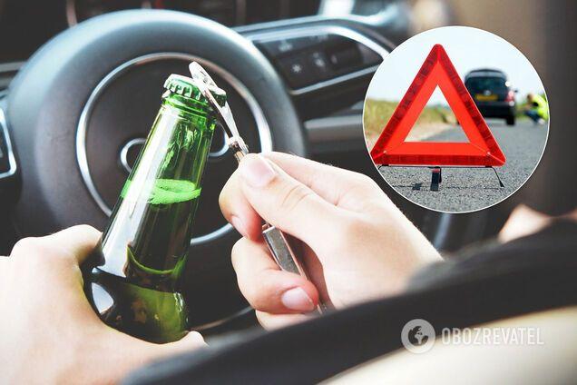 П'яні водії в 2020-му побили річний антирекорд в Україні: потурання Зеленського вартує життів