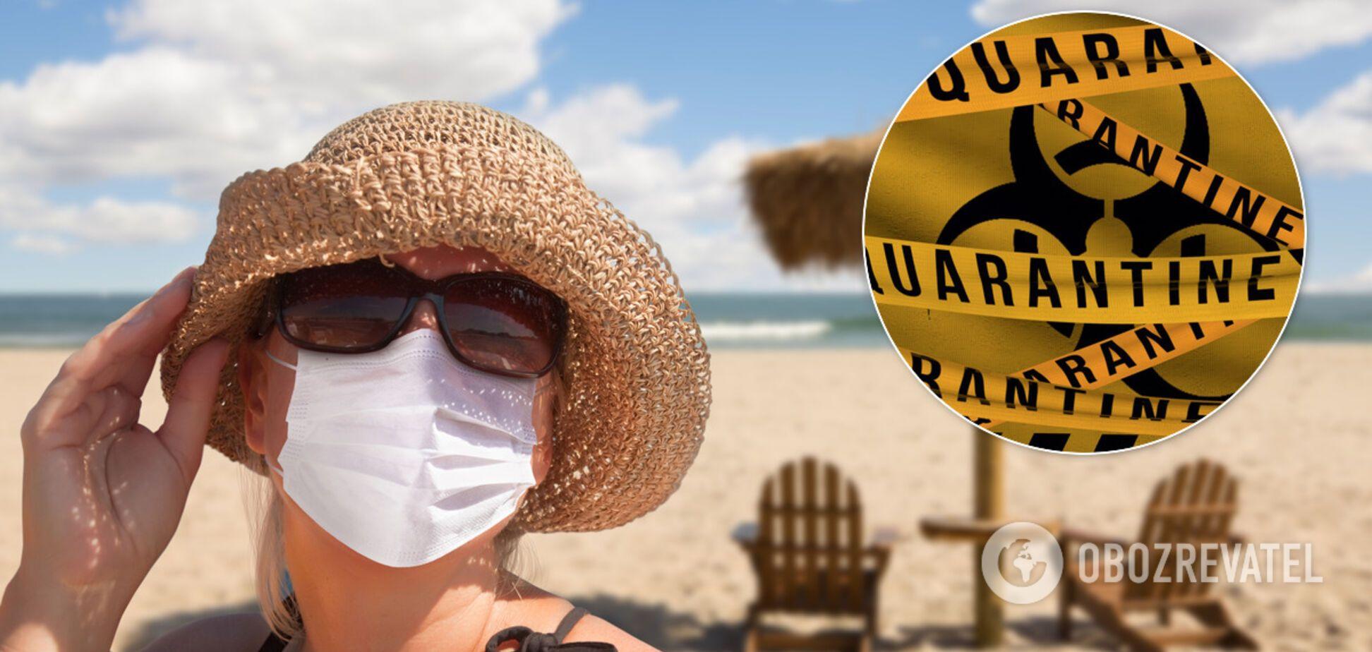 Курорти України можуть закрити на карантин. Чи скасовувати відпустку і як не захворіти COVID-19