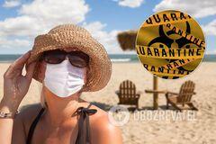 Курорты Украины могут закрыть на карантин. Отменять ли отпуск и как не заболеть COVID-19