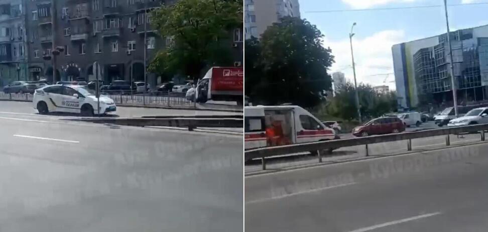 В Киеве мотоциклист попал в смертельное ДТП