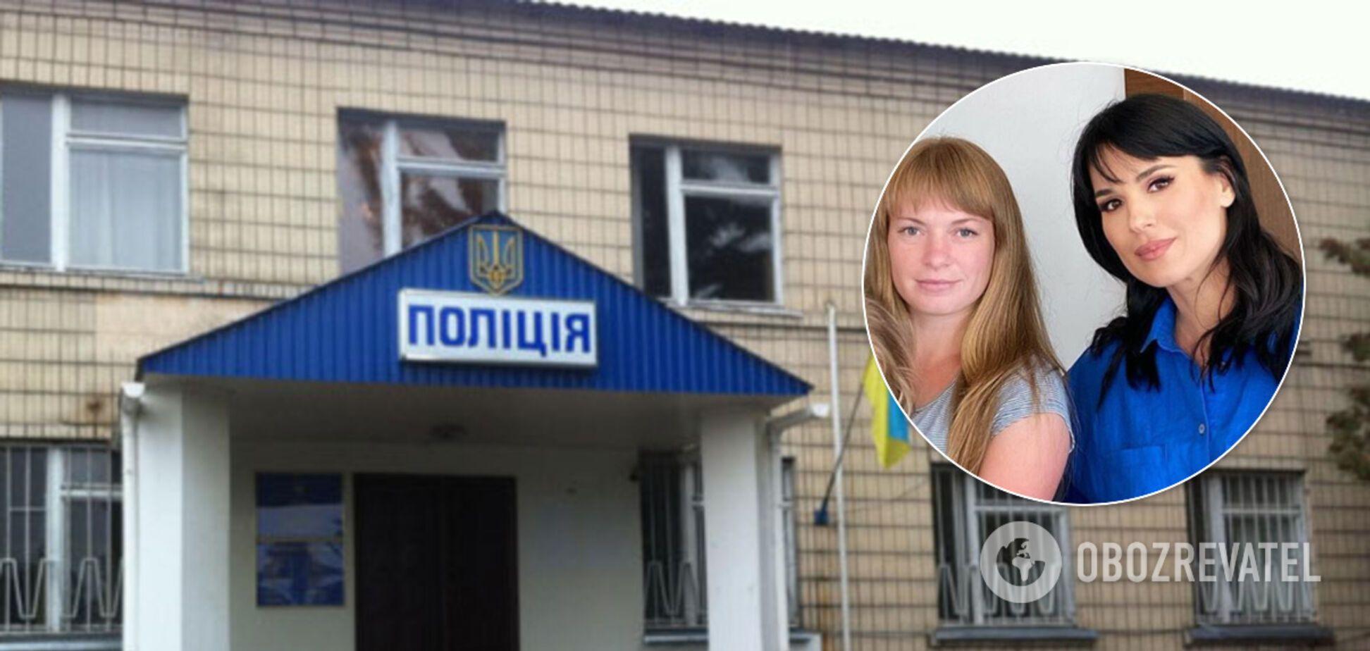 Маша Єфросиніна заступилася за жертву насильства в Кагарлику (колаж)