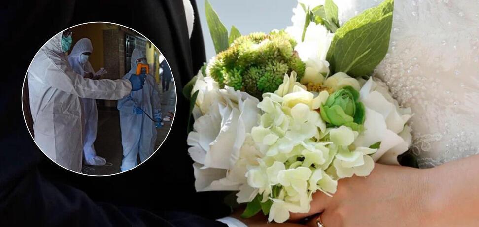 Жених заразил коронавирусом всех гостей на свадьбе и умер