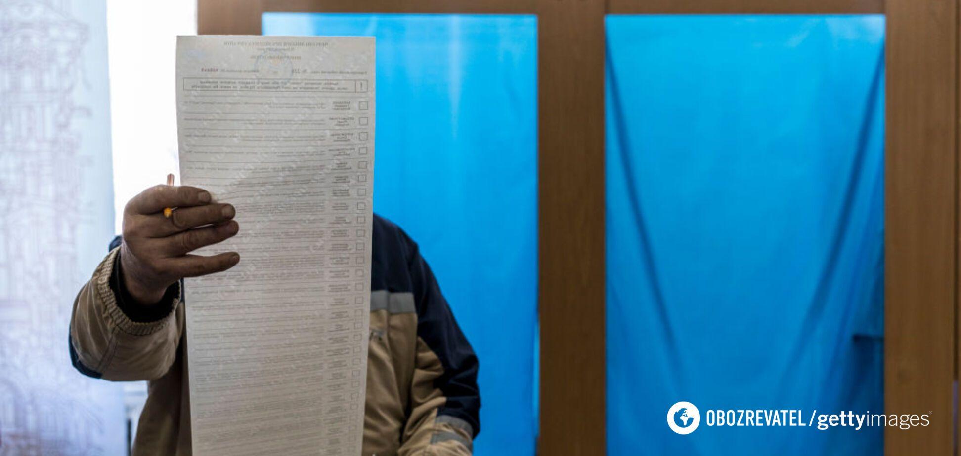 Избирательный кодекс изменят перед местными выборами: в Раде показали новый бюллетень