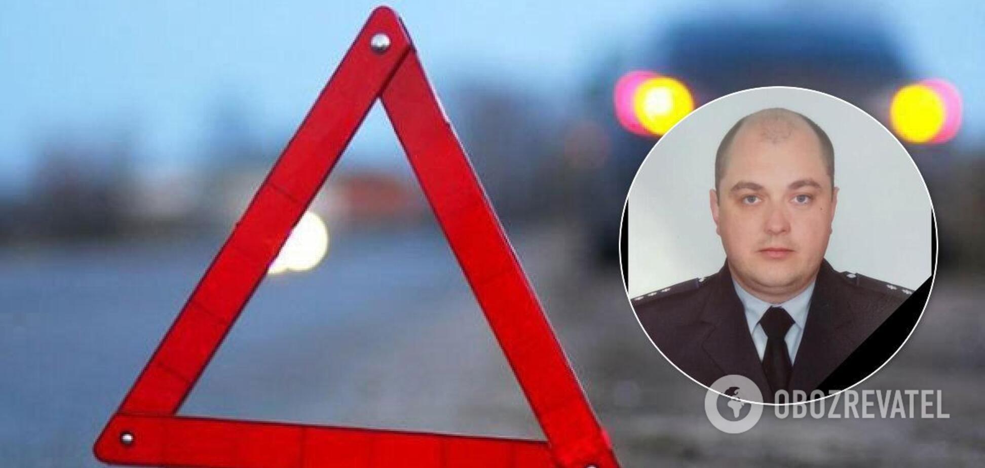 У ДТП загинув інспектор патрульної поліції на Харківщині