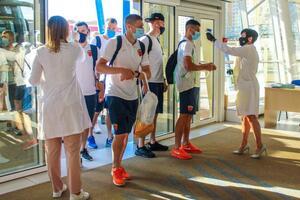 В украинском клубе зафиксирована вспышка коронавируса: матч Первой лиги перенесен