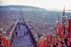 Мітинг на підтримку Гітлера в Німеччині, 1937 рік