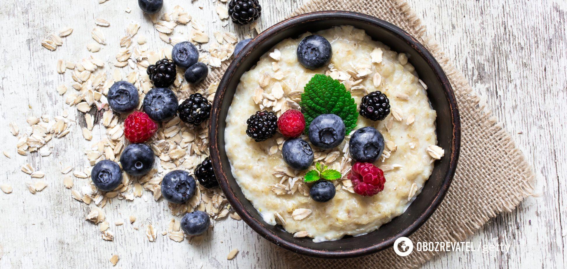 Завтрак должен быть сбалансированным и сытным