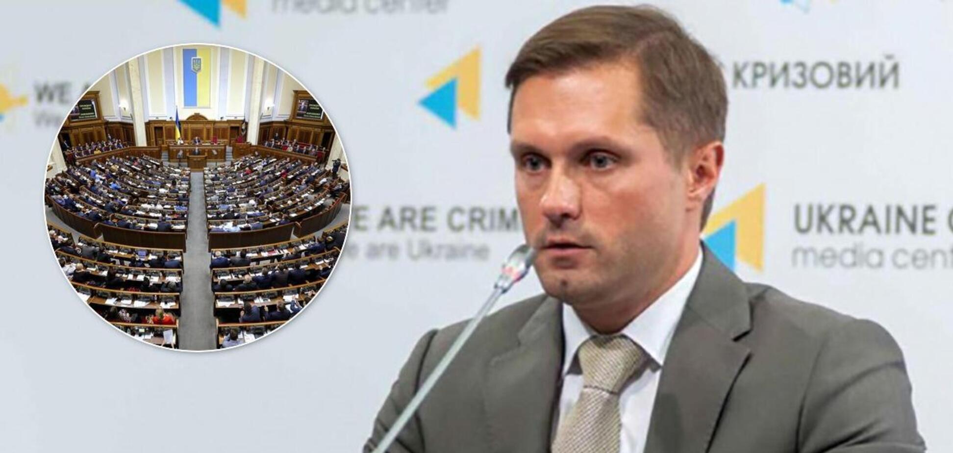 Главу АМКУ Терентьева отправили в отставку