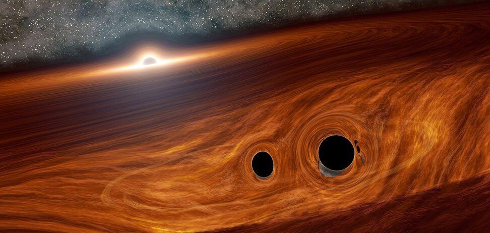 Астрономы рассказали об 'аппетитах' одной из самых больших черных дыр: способна поглотить Солнце за день