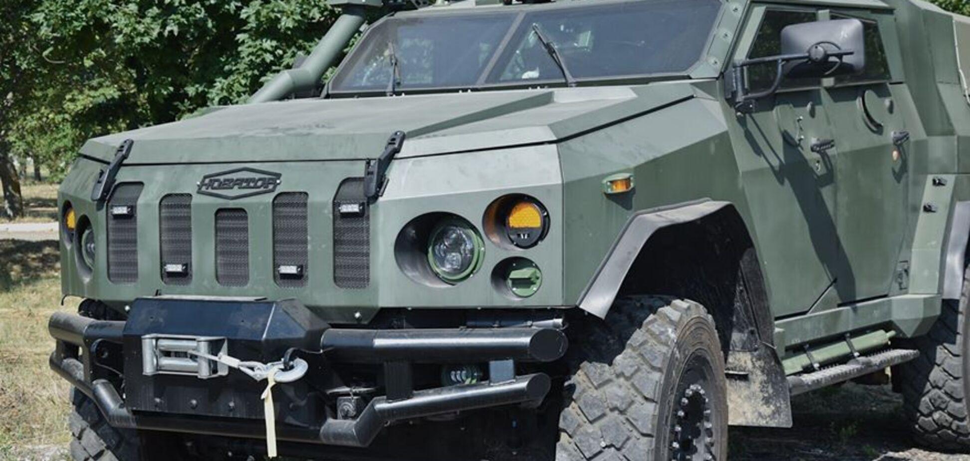 28 бригада сухопутних військ ЗСУ отримала бронемашини 'Новатор'