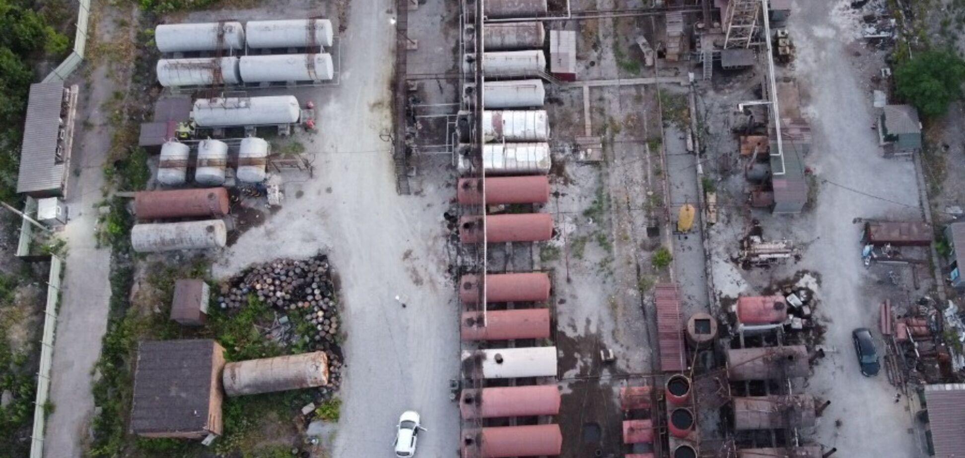 У Кривому Розі накрили підпільний нафтопереробний завод