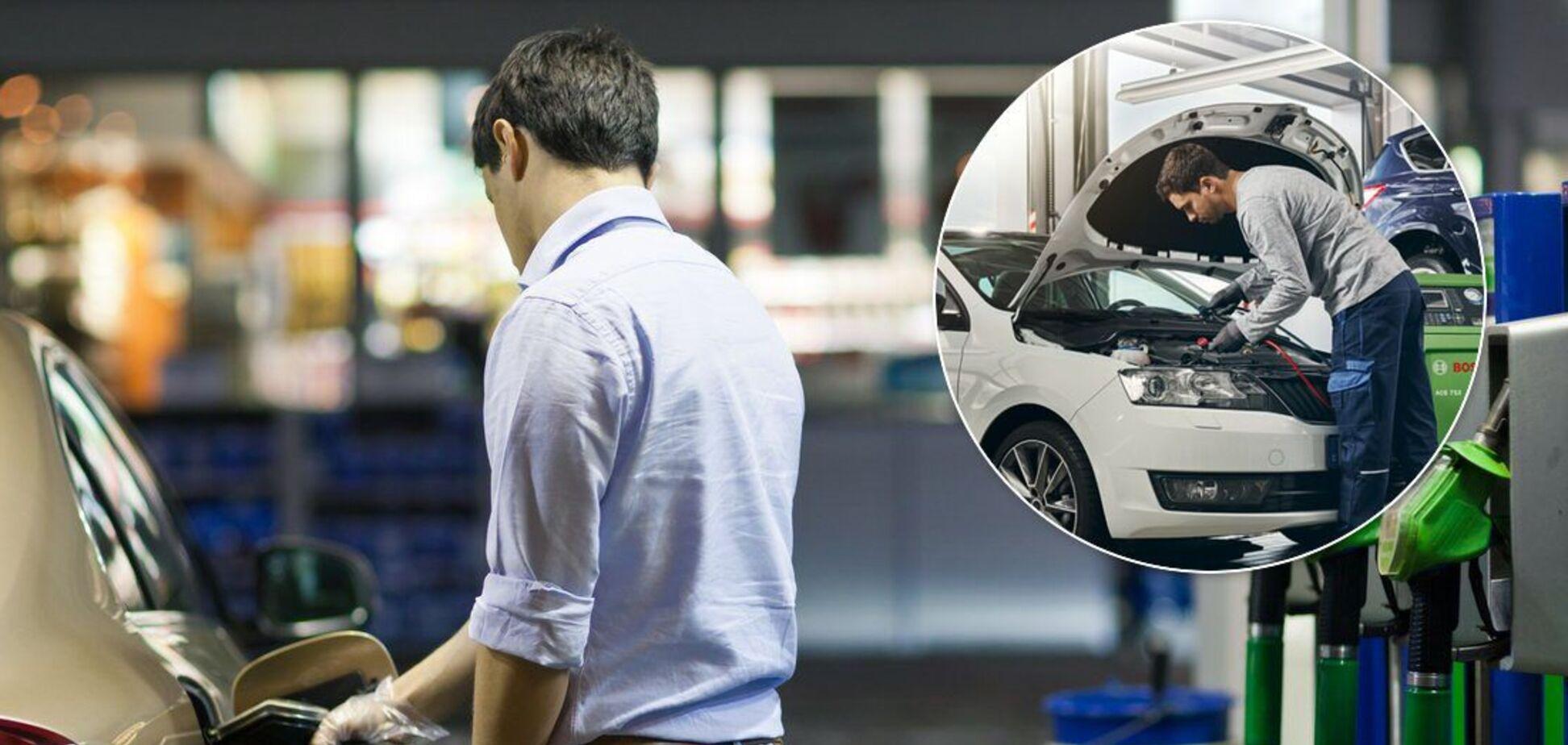 Автомобіль можна серйозно пошкодити, якщо переплутати паливо