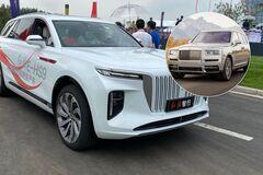 Китайцы решили скопировать дорогой внедорожник Rolls-Royce