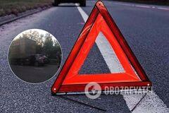 ДТП на трассе Киев-Чоп