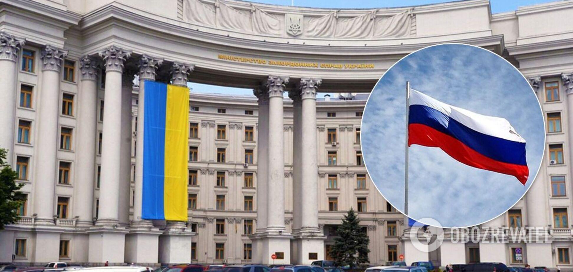 У МЗС назвали 'страусовою поведінкою' повернення РФ ноти через парад у Севастополі