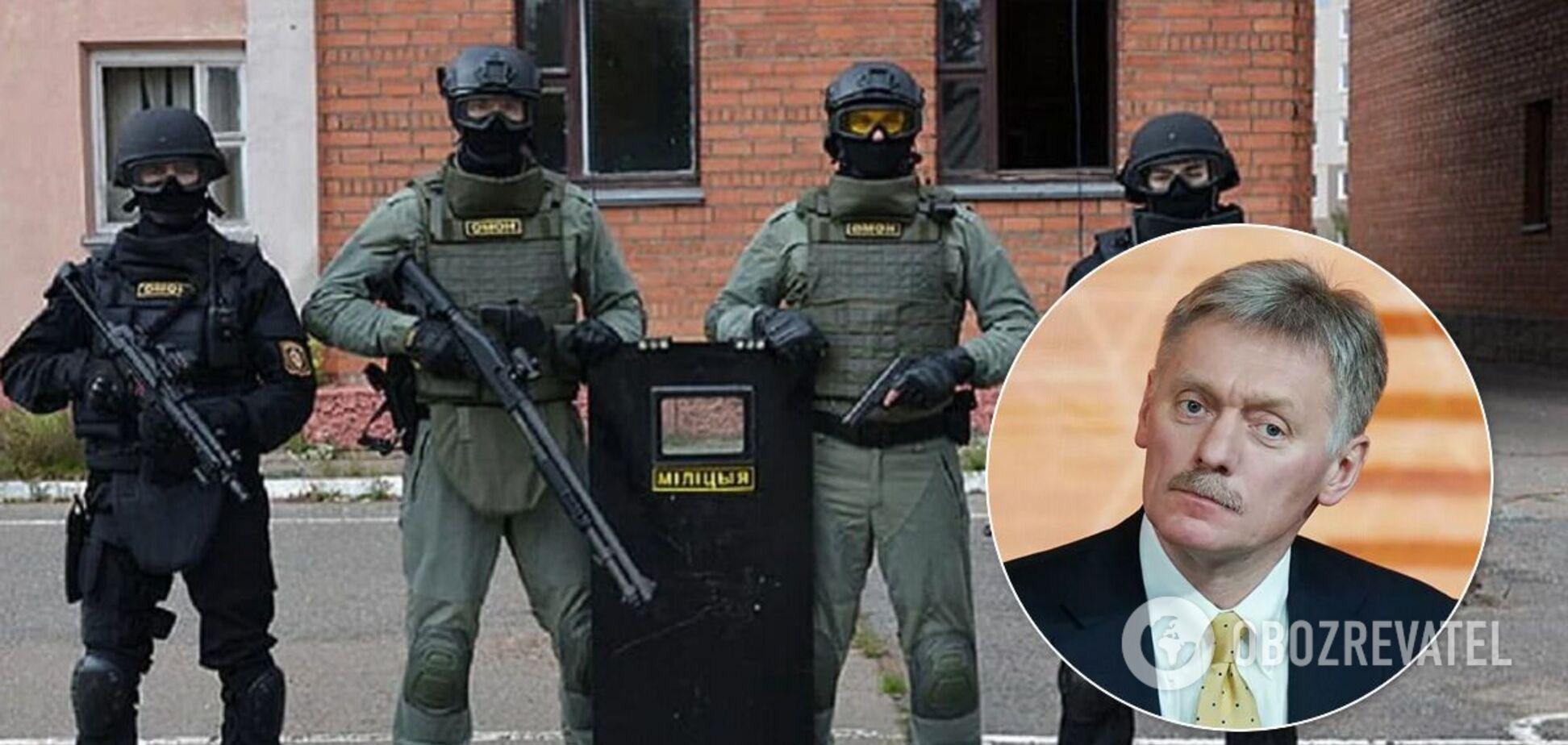 Дмитро Пєсков відреагував на затримання бойовиків у Білорусі