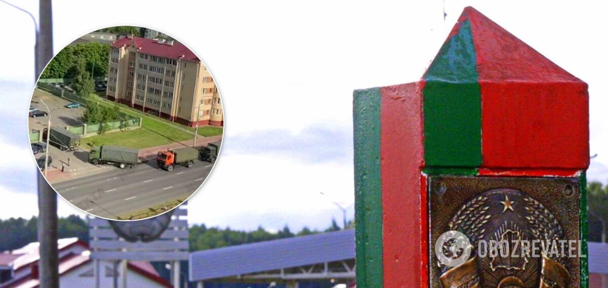 Беларусь усилила границы
