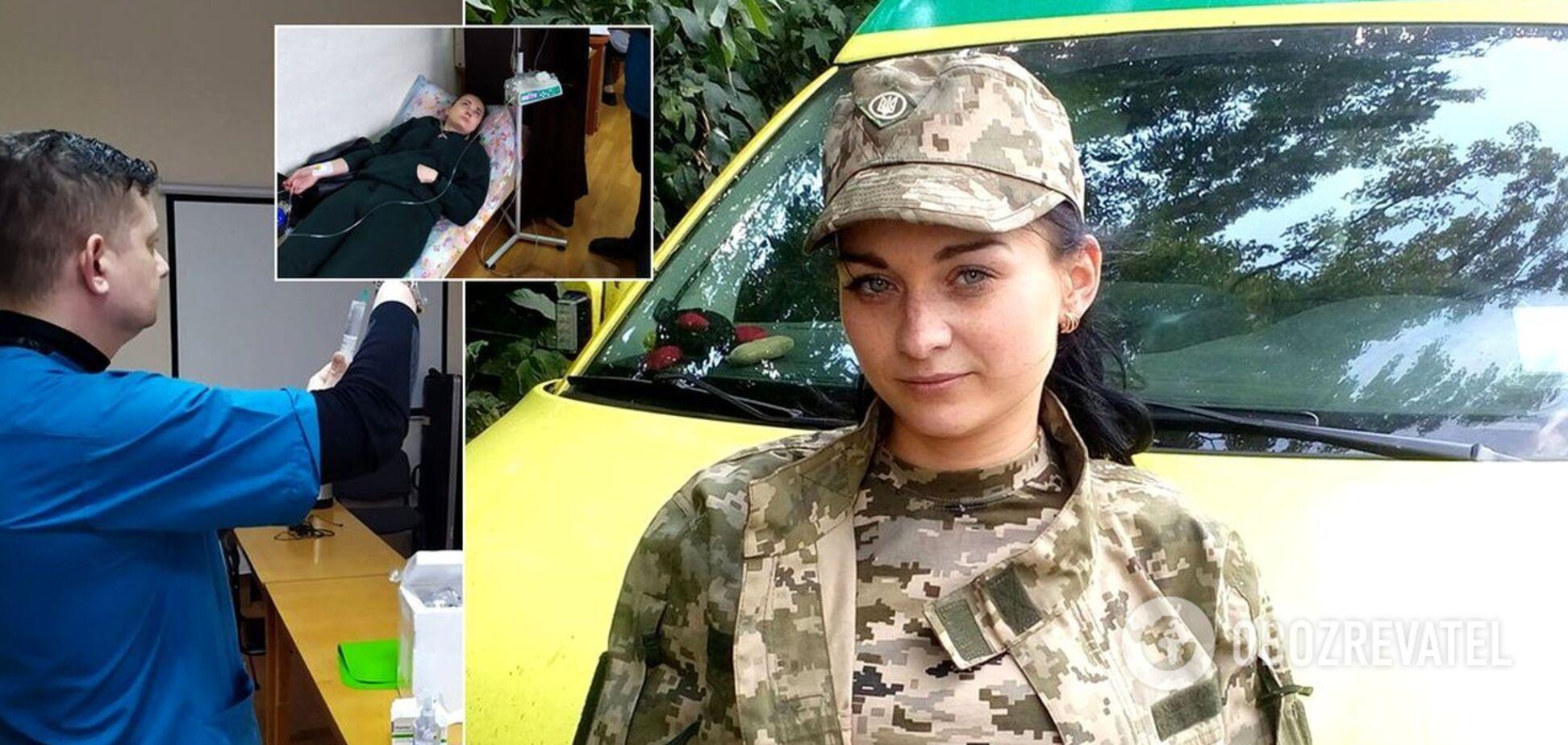 Катерина Коршик захворіла під час служби в армії