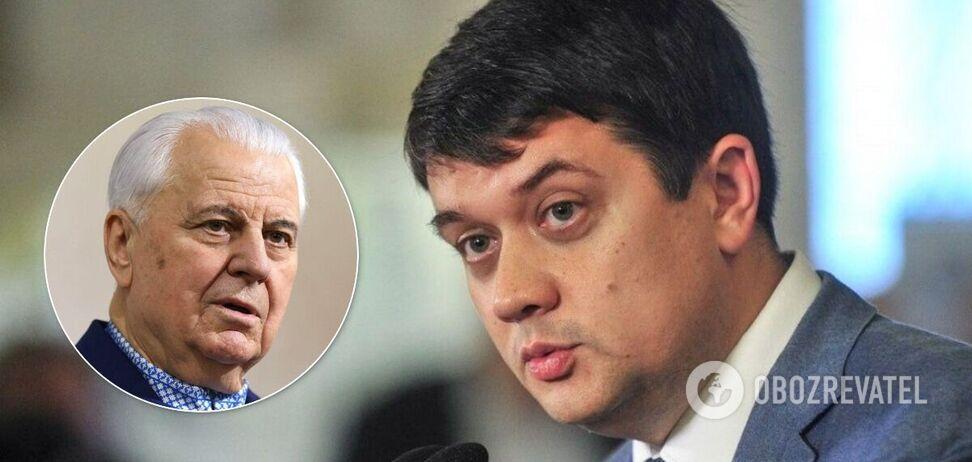 Разумков оценил кандидатуру Кравчука в ТКГ по Донбассу