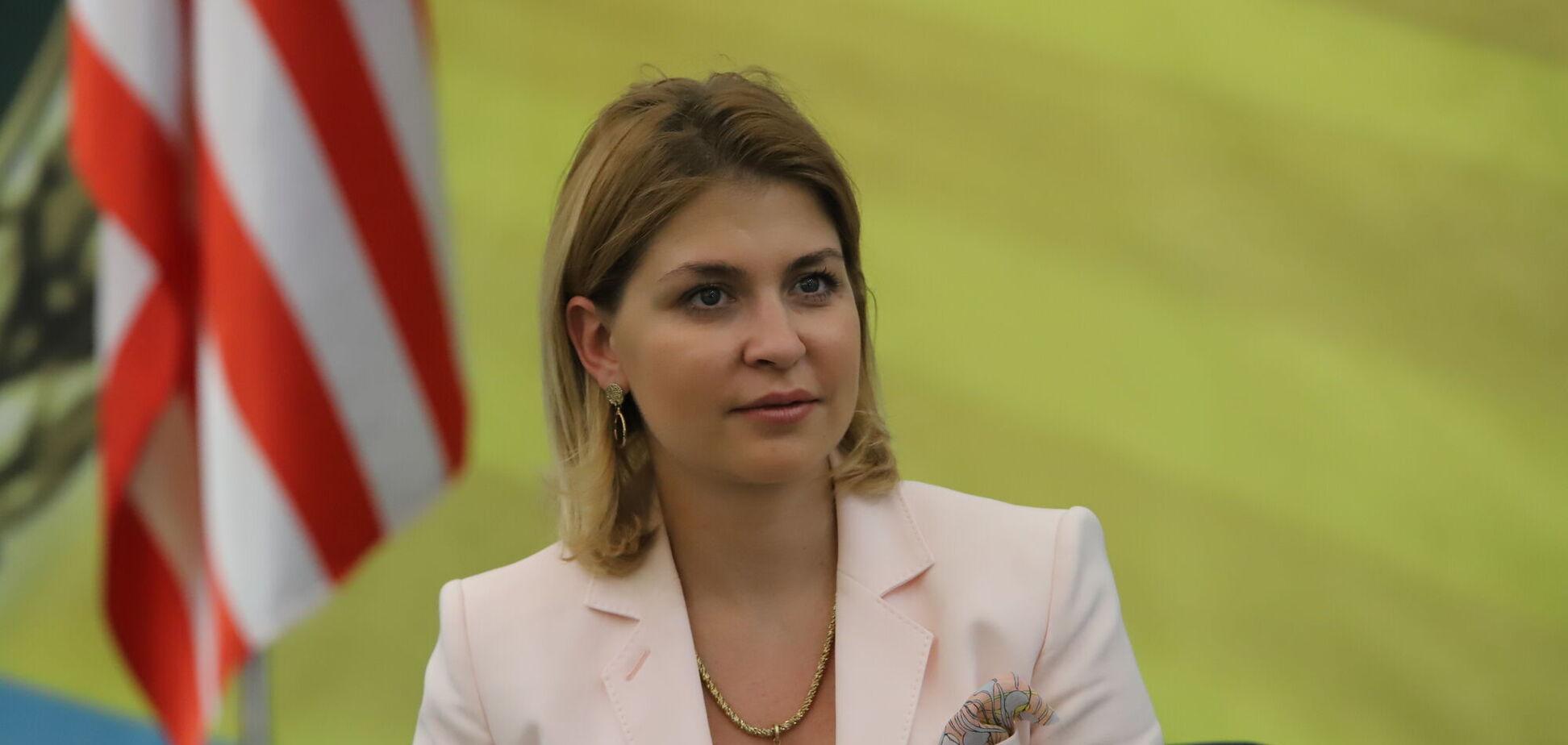 Ольга Стефанішина: поставте віцепрем'єрці гостре питання