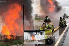 В Техасе взорвалось газовое хранилище
