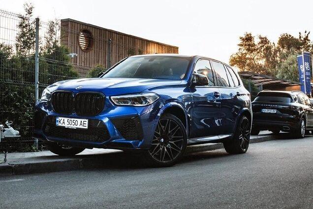 Редчайший внедорожник BMW X5 M Competition увидели в Украине. Фото: instagram.com/drive.luxury