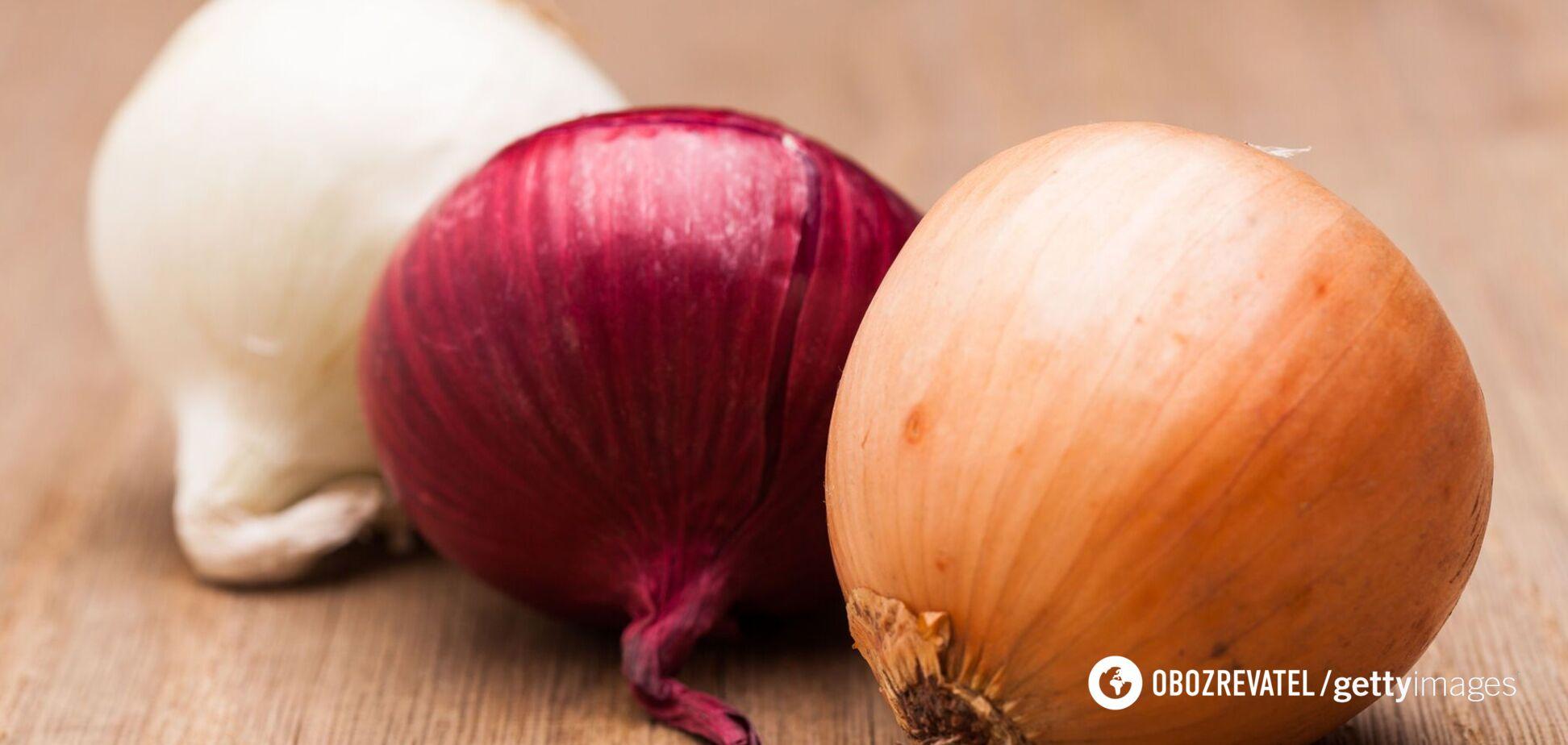 Цибуля сприяє поліпшенню кровообігу