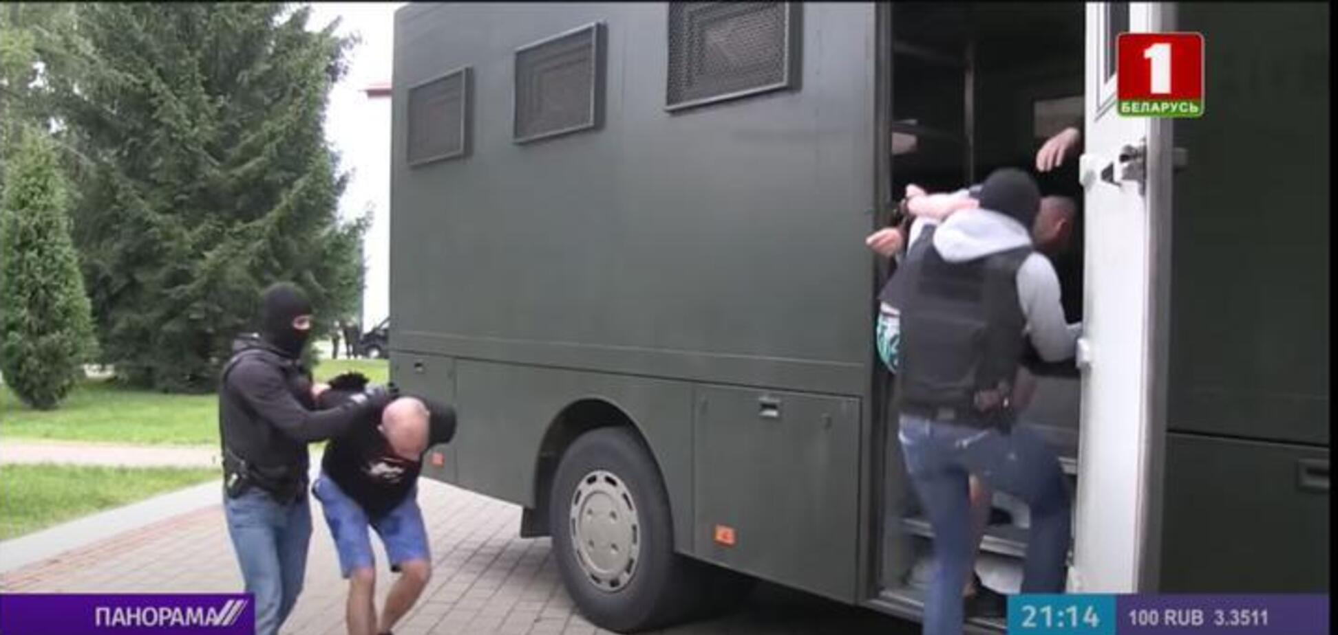 У Білорусі затримано 33 бойовиків групи Вагнера. Джерело: tvr.by
