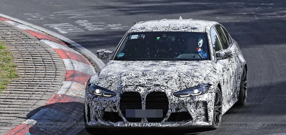 На Нюрбургринзі помічено новий BMW M3