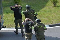 В Беларуси арестовали задержанных российских 'вагнеровцев'