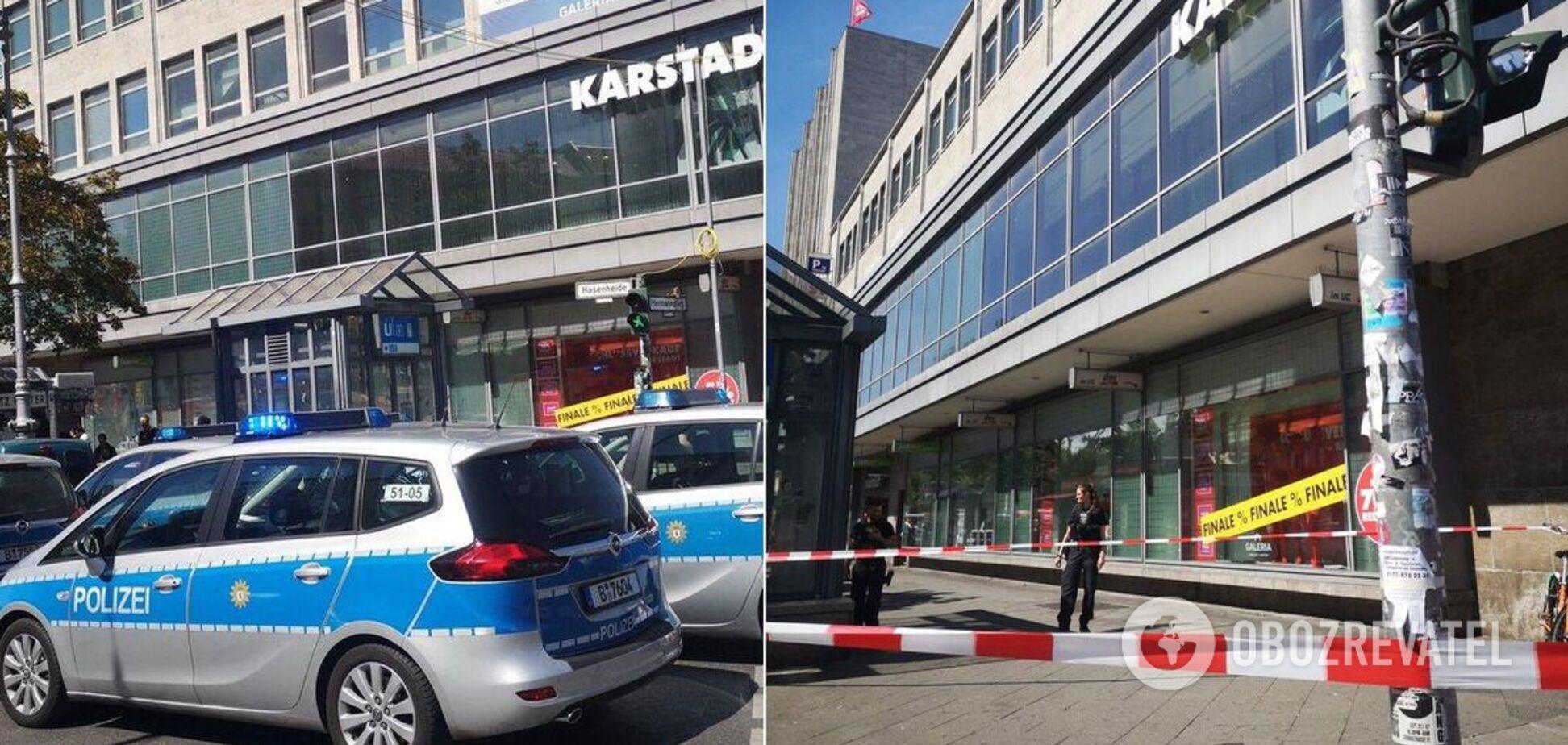 В Берлине напали на торговый центр: восемь человек пострадали