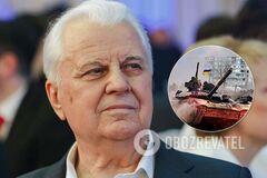 Кравчук рассказал, почему трудно 'просто перестать стрелять' на Донбассе