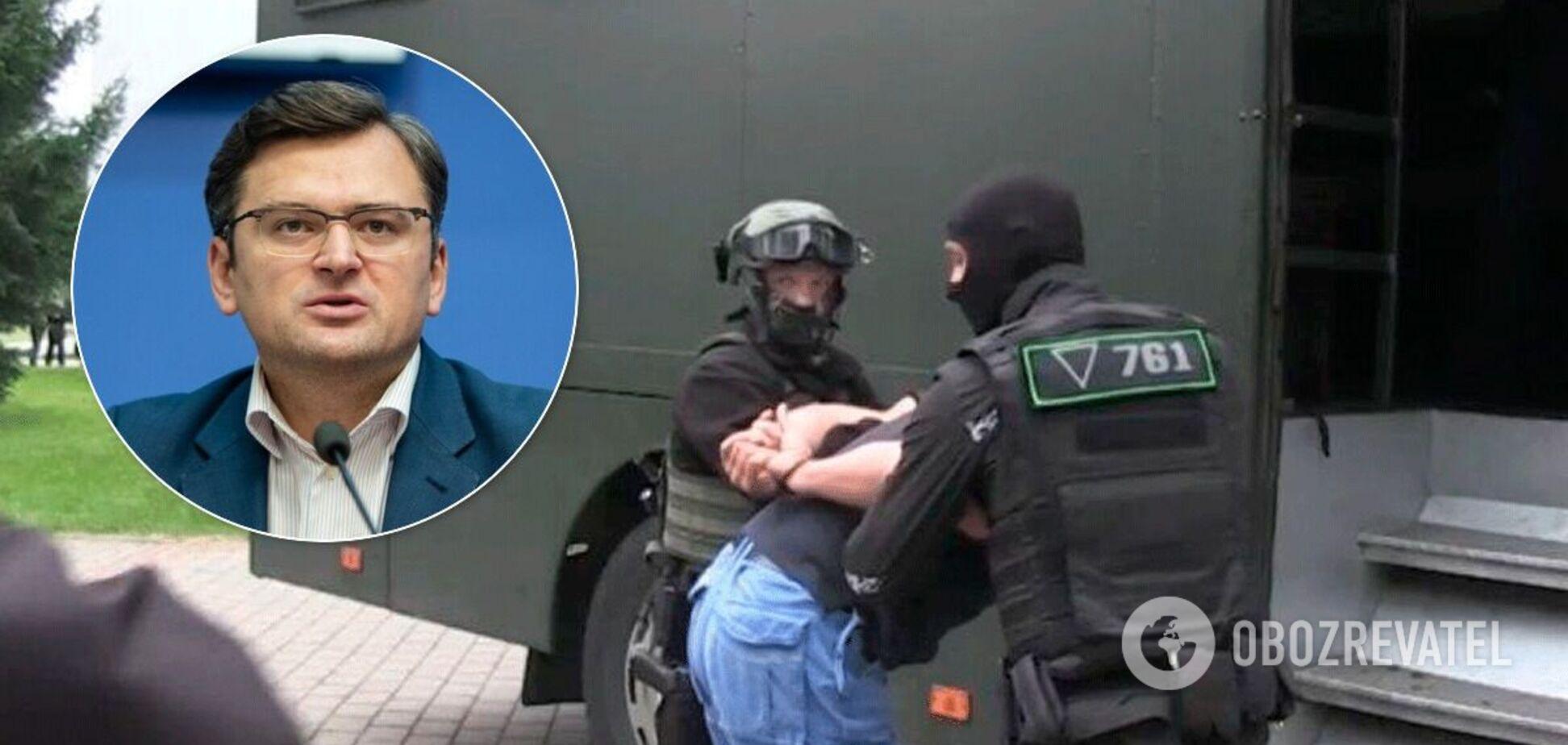 Дмитрий Кулеба опроверг информацию о семи задержанных граждан Украины