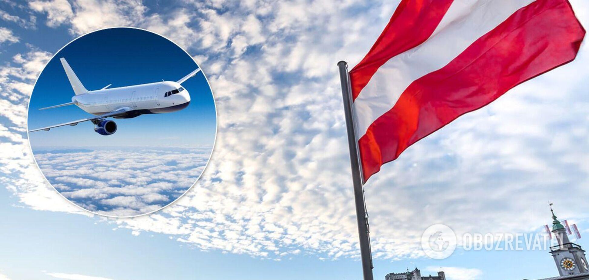 Австрия разрешила полеты из Украины