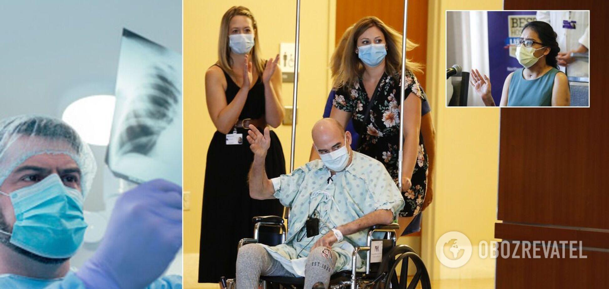 Пацієнтам пересадили легені після COVID-19: відео про ризиковану операцію