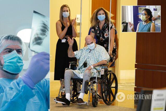 Пациентам пересадили легкие после COVID-19: видео о рискованной операции
