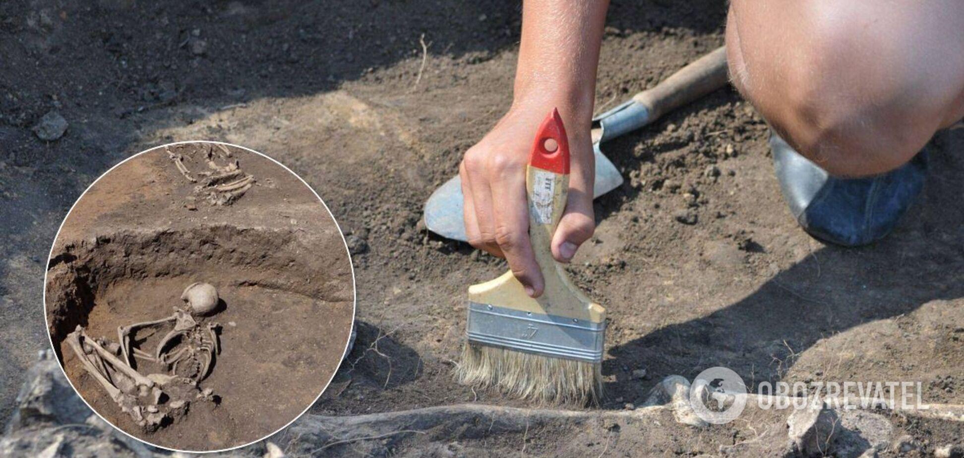 У поселенні Слатіна знайшли 4 могили