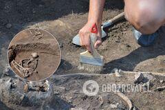 В поселении Слатина нашли 4 могилы