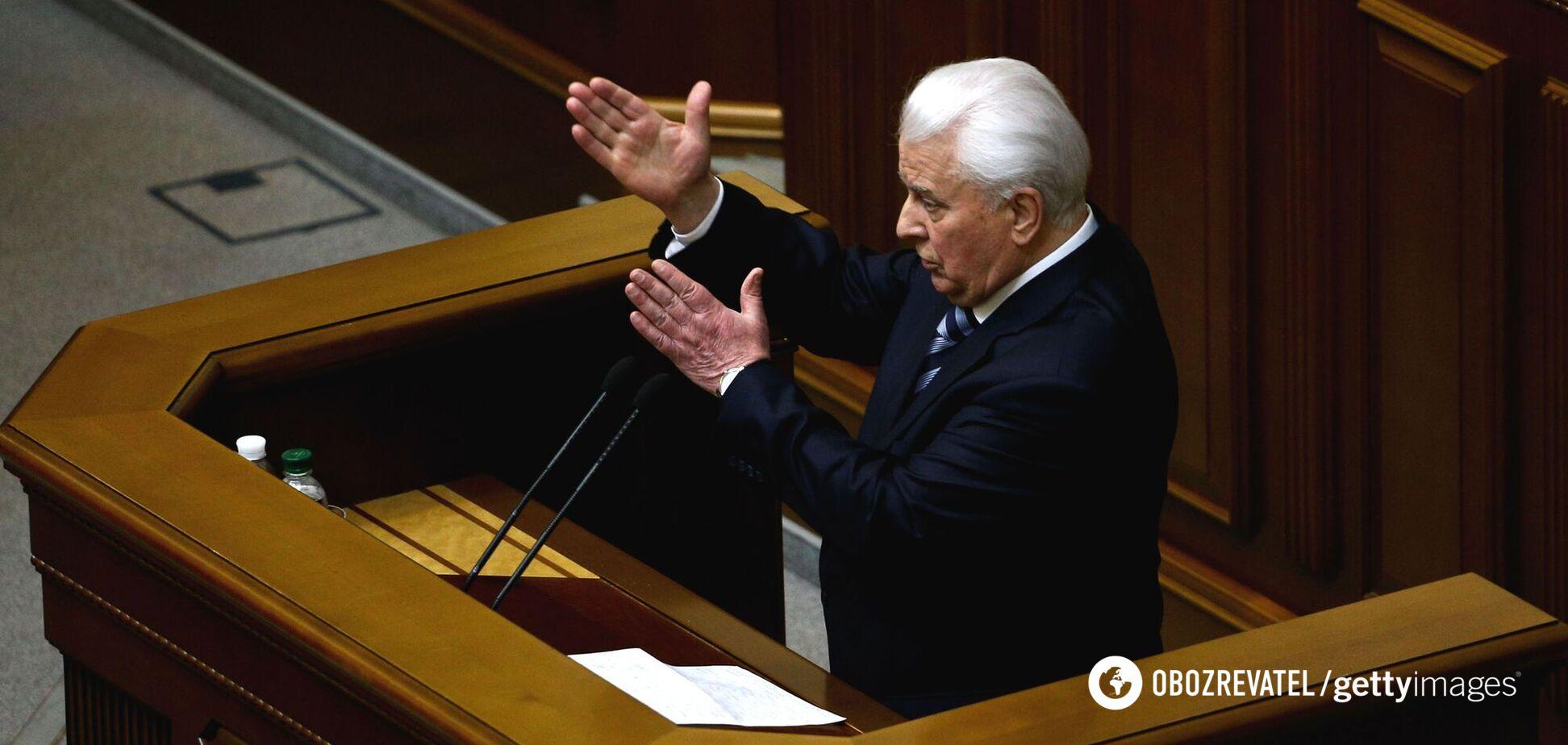 Кравчук во главе ТКГ – это символично, – Стефанишина