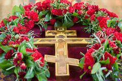 В Медовый Спас чествуют память Животворящего Креста Господня, образа Спасителя и иконы Владимирской Божьей Матери